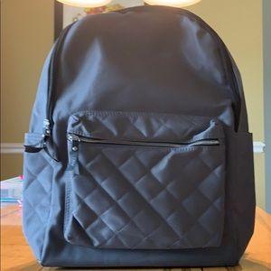 Women's gray backpack